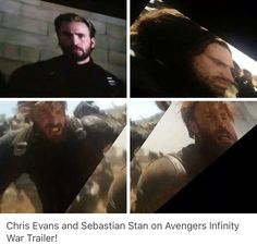 Infinity War (shit quality but better than waiting till the end of the year for beard cap & badass bucky)