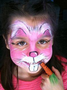 Rabbit Face Makeup | Faces By Gina Watkins and Company