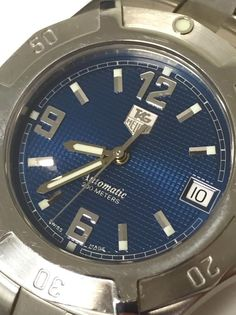 TAG HEUER 2000 EXCLUSIVE WN1112 BLUE DIAL / QUARTZ / BRACELET / STAINLESS STEEL #TagHeuer