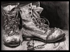 old boots by ~lapam04 on deviantART