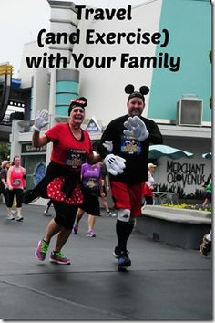 Fitness travel can be fun for the whole family