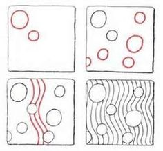 Image result for Easy Zentangle Patterns for Beginners Step by Step