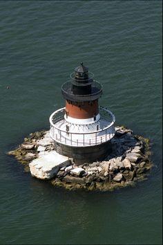 Plum Beach Lighthouse, near North Kingstown,Rhode Island