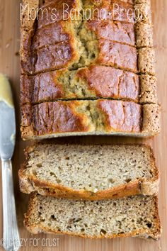 Mom's Banana Bread | crazyforcrust.com | The PERFECT banana bread recipe, straight from my mom to you!
