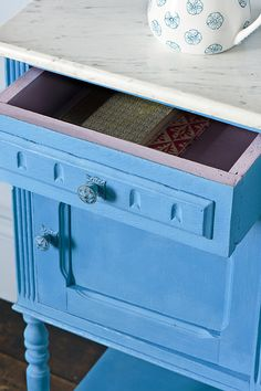 Painted Furniture in Giverny Chalk Paint® by Annie Sloan .