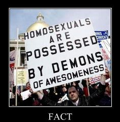 If they're all going to hell it must be a Fabulous place!