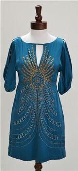 Nanette Lepore  Darjeeling Silk Dress  Seen on Gossip Girl Blake Lively & Jennifer Love Hewitt