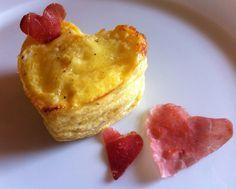 Antipasto di San Valentino con patate e speck