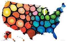 150 Best COOLEST MAPS OF USA images | Cards, Destinations, Location map