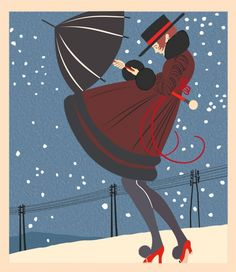 Baby its cold outside This would make a great christmas tag