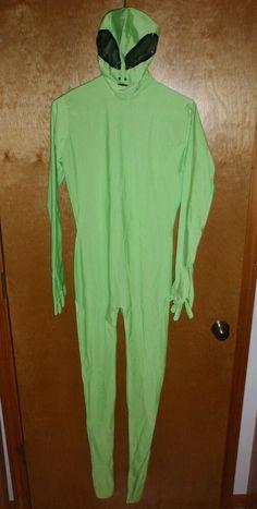 NEW Alien Spandex FULL Bodysuit Halloween Costume With Black Eyes Spaceman #Unbranded #Bodysuit Boy Costumes, Adult Costumes, Cosplay Costumes, Halloween Costumes For Sale, Halloween Fancy Dress, Zentai Suit, Full Body Suit, Male Cosplay