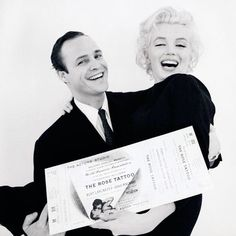 ❤️ Marilyn & Marlon Brando