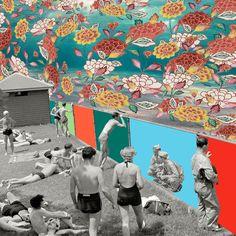 - Perception numéro 2 - Collage / Axel Redon Paris - Août 2013