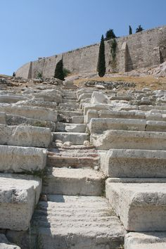 Ancient Dionysus Theater, Athens, Greece