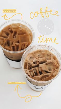 16 ideas for quotes summer drinks Aesthetic Coffee, Aesthetic Food, But First Coffee, Coffee Love, Iced Coffee, Freelee The Banana Girl, Def Not, Good Food, Yummy Food