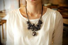 Fashional Style Emebellished Multi-Layered Beads Women's Necklace (AS THE PICTURE) | Sammydress.com