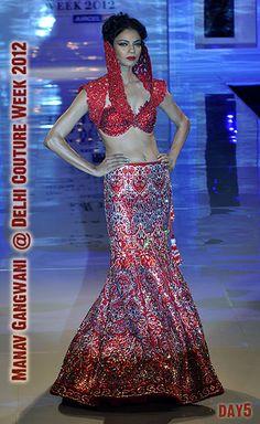 Manav Gangwani @ Delhi #Couture Week 2012