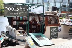 Word on the Water in London | 17 Bookstores That Will Literally Change Your Life