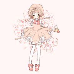 kurisu004: Cute Cardcaptor Sakura ~ Sakura Kinomoto さくらちゃん | まゆころ [pixiv]