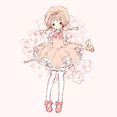 Cardcaptor Sakura | CLAMP | Madhouse / Kinomoto Sakura / 「さくらちゃん」/「まゆころ」のイラスト [pixiv]