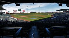 Have you ever thought about creating a unique wedding experience for you and your guests? One of our employees actually got married at Hohokam Stadium almost 10 years ago when it was Cubs park! #UniqueWeddings #Cubs #AZWeddings #Baseball #Bridal