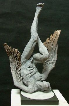 Lucianne Lassalle - Icarus With Burning Wings