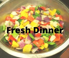You need something COLORFUL& #Fresh for dinner tonight! Start your weekend off on the right foot, #Boston. #Healthy #freshCity #Restaurants