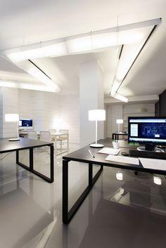 Sleek Modern Office Room Interior Design Pictures