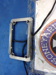 motorcycle-parts: CHROME LED LICENSE PLATE FRAME & LIGHTS TURN STOP RUN HARLEY CUSTOM CHOPPER #Motorcycle - CHROME LED LICENSE PLATE FRAME & LIGHTS TURN STOP RUN HARLEY CUSTOM CHOPPER...