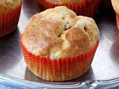 Muffins con Zucchine, Prosciutto Cotto e Philadelphia