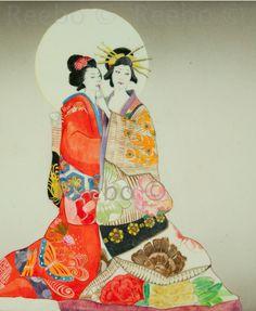geisha, maiko, Japan