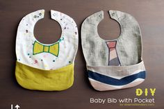 DIY Baby Bib with Pocket #babyshower #pregnancy #maternity #baby http://inexpensivematernityclothes.org/diy-baby-bib-with-pocket-baby-shower-gift-ideas/