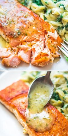 Salmon Recipe Videos, Salmon Recipes, Fish Recipes, Seafood Recipes, Cooking Recipes, Healthy Recipes, Recipies, Dinner Recipes, Fish Dinner