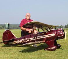 Road to Top Gun -- Smoking WACO YMF-5 - Model Airplane News