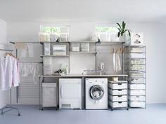 Pralnia, suszarnia, prasowalnia Antonius IKEA