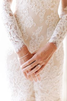 modest wedding dress with long sleeves from alta moda. -- (modest bridal gown) --