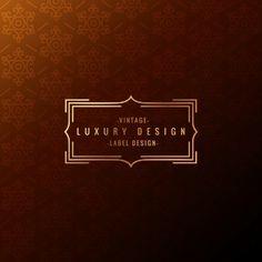 Premium Logo Vectors, Photos and PSD files Book Design, Layout Design, Art Deco Font, Hotel Logo, Luxury Logo, Premium Logo, Book Layout, Typography Logo, Logo Nasa
