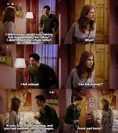 Ross and Rachel Friends.