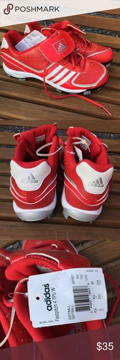 Adidas Fastpitch 4 TPU Softball Cleats Size 6.5 New. Size 6.5 Adidas Shoes Athletic Shoes