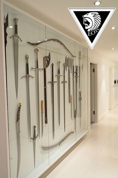 Another Sword display (if you look close you can see the mounting I told you about)