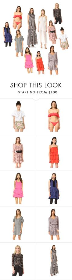 """""""Ruffle..**"""" by yagna ❤ liked on Polyvore featuring Giambattista Valli, Milly, Zimmermann, Red Carter, LoveShackFancy, Amelia Toro, Current/Elliott, cupcakes and cashmere, Veronica Beard and BCBGMAXAZRIA"""
