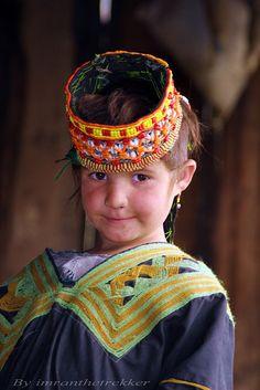 Faces of Kalash, Pakistan by Imran Schah Beautiful Smile, Beautiful Children, Beautiful World, Beautiful People, Kalash People, Pakistan Travel, Alexander The Great, Fair Skin, Central Asia