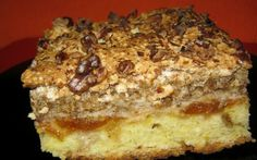 Cake with nuts cream Romanian Desserts, Romanian Food, No Cook Desserts, Dessert Recipes, Cake Factory, Eat Dessert First, Cake Cookies, Food And Drink, Cooking Recipes