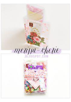 Merissa to Celine for the Happy Mail Project by Merissa Revestir, via Flickr