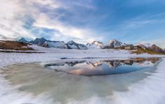 Paesaggi in #Valtellina. Alpi Retiche, Scermendone, Monte Disgrazia