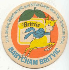 Babycham Britvic beermat from Vintage Ads, Vintage Designs, Beer Label Design, Beer Mats, Dining Room Colors, Beer Coasters, Oh Deer, Bambi, Good Old
