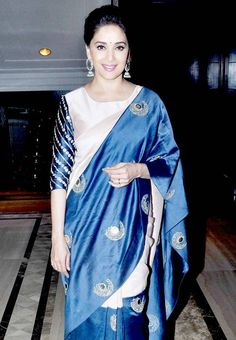 Madhuri Dixit at the Unicef India's 'Radio4child' Awards function. #Bollywood #Fashion #Style #Beauty #Desi #Classy