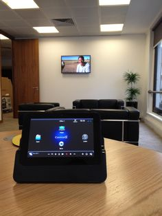 Office Install - Mayfair: Includes Smart Board and Polycomm Video Conferencing from Azro Home Technology Specialists