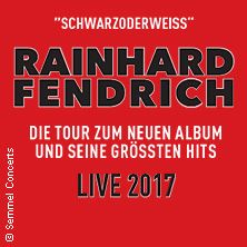 """Rainhard Fendrich: Seine größten Hits und das neue Album """"S/W"""" - Live 2017 // 09.02.2017 - 08.03.2017  // 09.02.2017 20:00 HOF / SAALE/Freiheitshalle Hof // 10.02.2017 20:00 BERLIN/Columbiahalle // 11.02.2017 20:00 HAMBURG/Laeiszhalle Hamburg, Großer Saal // 13.02.2017 20:00 FRANKFURT/Jahrhunderthalle Frankfurt // 14.02.2017 20:00 REGENSBURG/Donau-Arena // 15.02.2017 20:00 NÜRNBERG/ARENA NÜRNBERGER VERSICHERUNG // 17.02.2017 20:00 WIEN/Wiener Stadthalle Halle D // 18.02.2017 20:00…"""