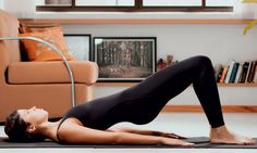 Pilates em casa: série fácil para ficar com o bumbum durinho e empinad